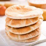 pita broodje met kaas