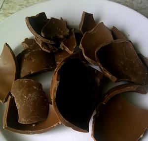 Chocolademelk van Paaseieren