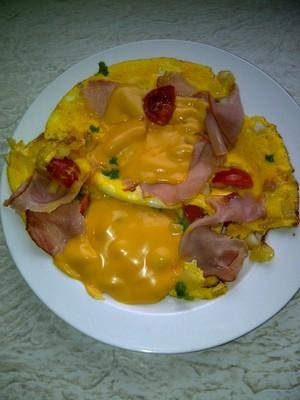 Super Power omelet