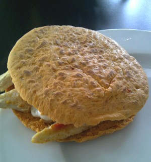 Heerlijke kipburger