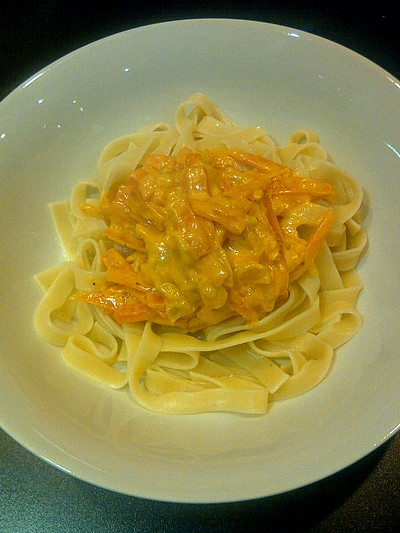 Worteltjes pasta