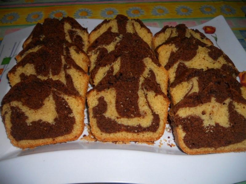 Gemarmerde cake