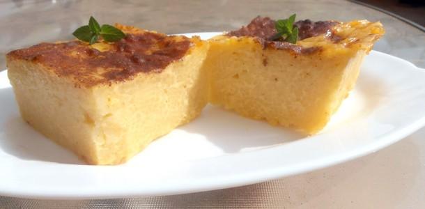 Pasta pudding