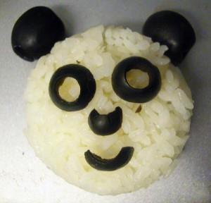 Rijst panda