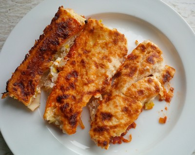 Cannelloni met prei en ricotta