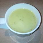 Courgettesoep met prei