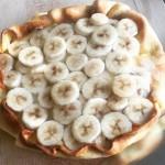Eenvoudige bananentaart