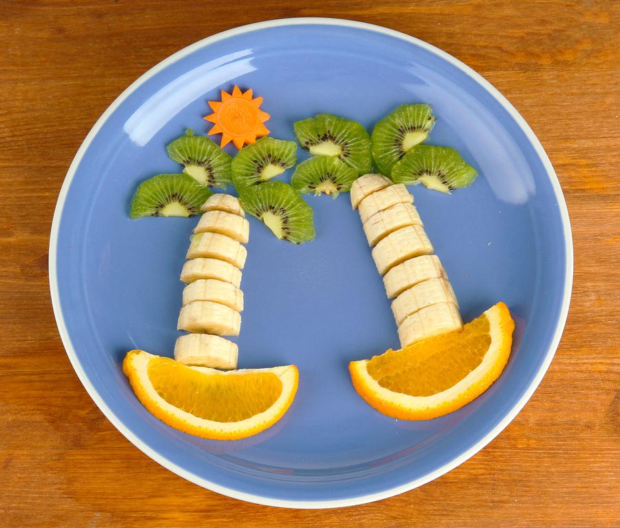 Zonnige bananen