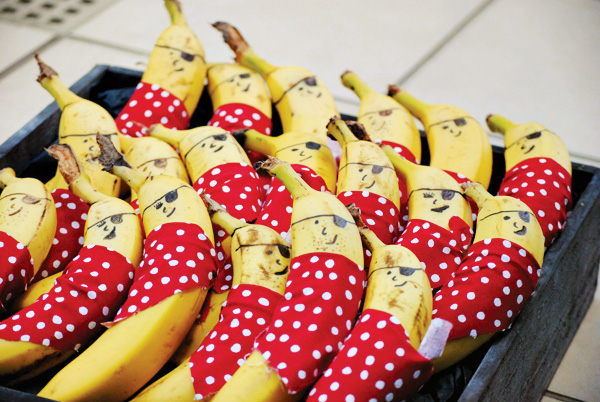 Bananen traktatie
