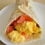 Wraps met omelet