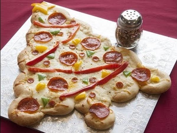 kerstmis-pizza